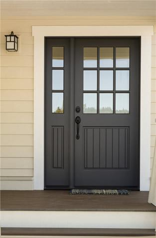 Replacement Entry Doors | Midland Exteriors of Manhattan, KS on